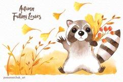 Autumn falling leaves Product Image 2