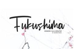 Fukushima Modern Calligraphy Product Image 2