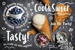 Ice-cream & Berries Font Product Image 4