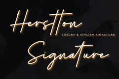 Herstton Signature   Two Style Signature Product Image 1