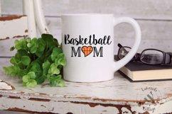 Basketball Mom Sports Mother SVG Design Product Image 2