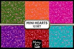 "12 Designs - 12"" x 12"" - Mini Hearts Product Image 3"