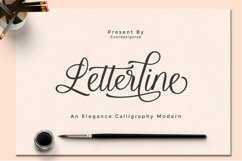 Letterline Script Product Image 1