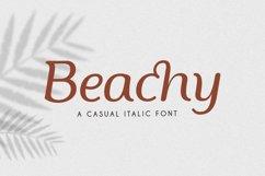 Beachy Italic Product Image 1