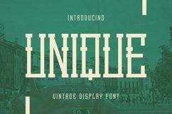 Unique Font Product Image 1
