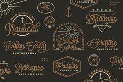 StringLabs - Monoline Retro Font Product Image 6