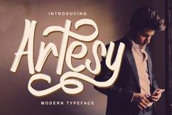 Artesy   Modern Typeface Font Product Image 1