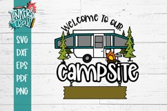 Custom Welcome To Our Camper Pop Up SVG Product Image 2
