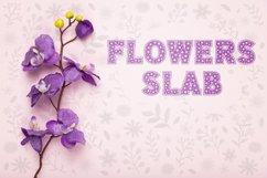 Flowers Slab Font Product Image 2