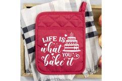 Pot Holder SVG Bundle, Kitchen SVG, Baking Svg, Baking Quote Product Image 3