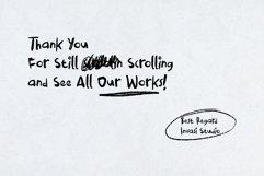 Boredom Handwritten Font Product Image 6