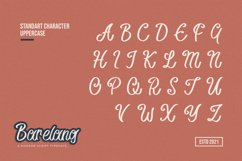 Barelang - A Modern Script Typeface Product Image 2