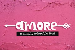 Amore Hearts Valentine Font For Crafters Product Image 1