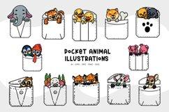 Pocket Animal Illustrations Product Image 1