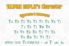 Halloween Vampire Display font Product Image 4