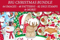 Christmas bundle, Christmas clipart graphics & illustrations Product Image 6