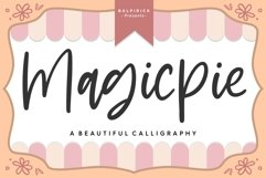 Magicpie Beautiful Calligraphy Product Image 1