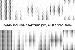 24 Star Patterns AI, EPS, JPG 5000x5000 Product Image 1