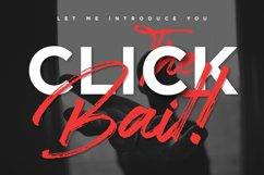 Clickbait - Logo Font Product Image 3