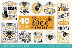 Bee Bundle SVG 40 designs Product Image 1