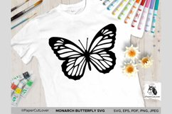 Monarch Butterfly SVG Stacked Butterfly Svg,3D Product Image 2