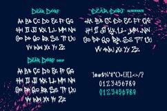 Web Font - Deardorf - Handdrawn Graffitti Font Product Image 2