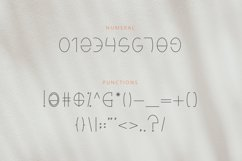 Kinders - Playful Linear Font Product Image 6