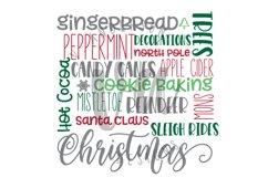 Christmas Subway Art SVG Product Image 2