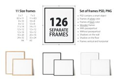 Scandinavian Interior Frames & Walls Mockup Bundle - 3 Product Image 5