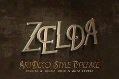 Zelda - ArtDeco Font Product Image 1