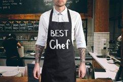 Chef handwritten brush font Product Image 3