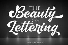 Willian Elegant Bold Script Product Image 4