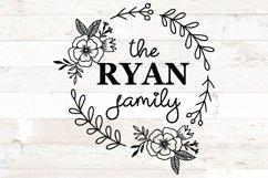 Family Monogram Bundle, Monogram Family Name Product Image 5