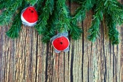 Christmas, New Year, winter holidays background Product Image 1