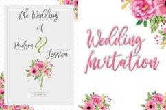 Wedding Flower | Display Typeface Font Product Image 5