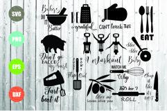 Kitchen SVG Bundle, Kitchen Towel Designs Product Image 1