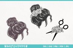 Hairdresser SVG Bundle | Hair Stylist & Hair Salon SVG Files Product Image 3
