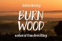 Burn Wood || natural handwriting Product Image 1