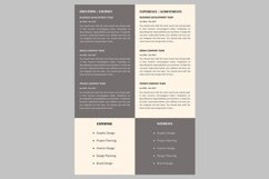 Creative resume template / CV Product Image 2