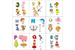 English alphabet with animals Bundle Product Image 2