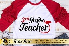 Teacher SVG PNG EPS DXF Teacher Quote SVG Teacher Life SVG Product Image 1