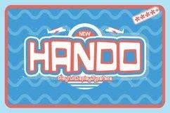 Web Font Hando Product Image 1