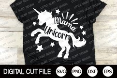 Unicorn Mama, Mother's Day Gift Shirt, Unicorn Svg Bundle Product Image 4