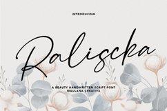 Raliscka Handwritten Script Font Product Image 1