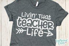 Teacher Shirt SVG Bundle - Back to School Cut Files Product Image 3