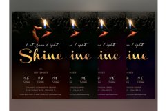 Shine Church Flyer Poster Photoshop Template Product Image 5