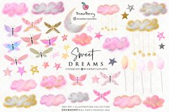 Sweet Dreams Cute Baby Clipart   Drawberry CP050 Product Image 2