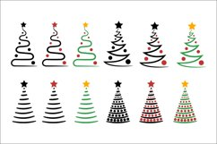 Christmas Trees SVG Clipart Product Image 2