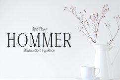 Hommer Minimal Serif Typeface Product Image 1