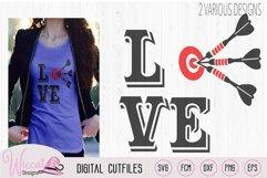 I love darts, darts board, Dart game, dart quote, bulls eye Product Image 2